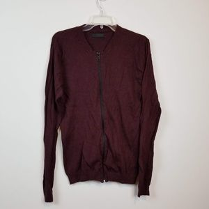 ASOS Men's zip up sweater size medium